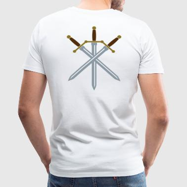 Sword Crossed - Men's Premium T-Shirt