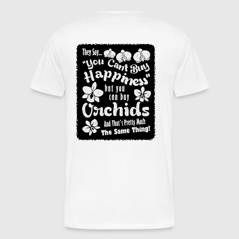 Orchids Equal Happiness - Men's Premium T-Shirt
