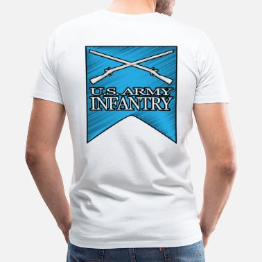2nd Infantry 2nd Infantry Crossed Muskets - Men's Premium T-Shirt