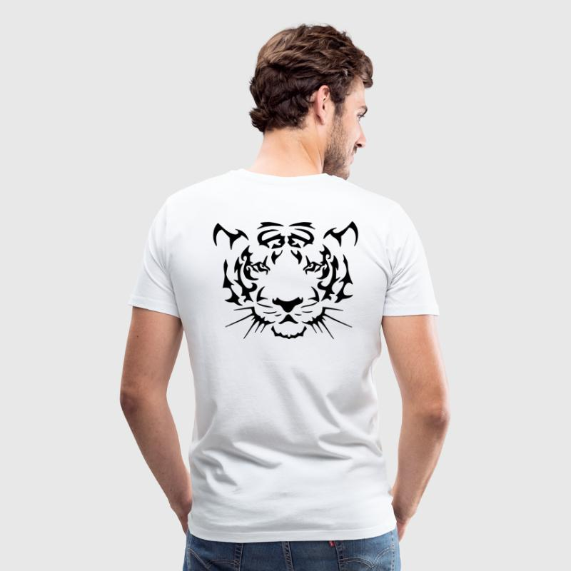 Tribal Tiger - Men's Premium T-Shirt