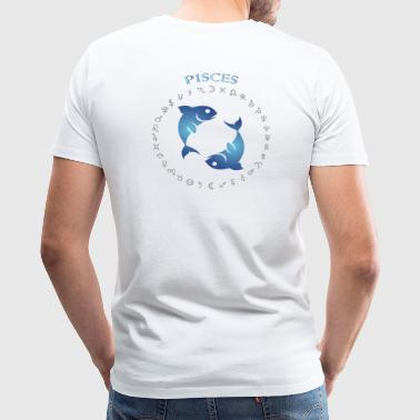 Pisces BP C 3s4 - Men's Premium T-Shirt