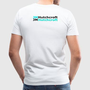 Back Printed JM Hutchcroft - Men's Premium T-Shirt