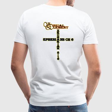 Locator Cross Element - Men's Premium T-Shirt