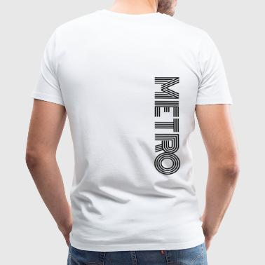 Metro 2033 METRO : Metro Main Apparel - Men's Premium T-Shirt