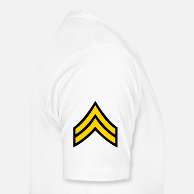 Army Man army rank corporal patch - Men's Premium T-Shirt