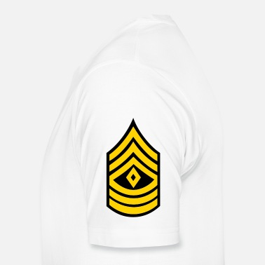 Army Man army rank first sergeant patch - Men's Premium T-Shirt