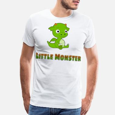 Little Miss Funny little Monster Shirt foy Boys and Kids - Men's Premium T-Shirt