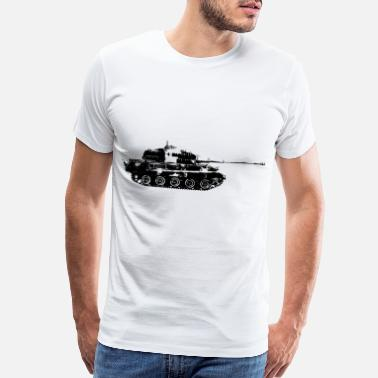 War Tank King Tiger tank armor gift - Men's Premium T-Shirt