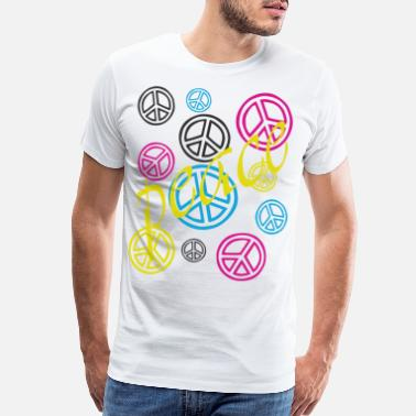 Peace Movement peace - Men's Premium T-Shirt