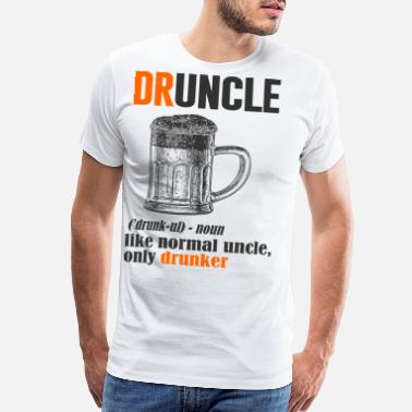 Whiskey Quotes Druncle uncle 2 - Men's Premium T-Shirt