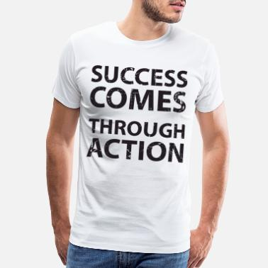 Economy Entrepreneur Quote - Men's Premium T-Shirt