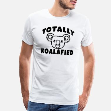 Spirit Animal Bear Totally Koalafied Spirit Animal Koala Cool Gift - Men's Premium T-Shirt