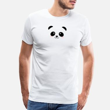 Skrt CUTE PANDA - Men's Premium T-Shirt