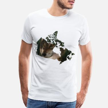 Canadian Bears Perfect Design for all Canada,wolf,forest lover - Men's Premium T-Shirt