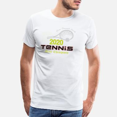Federal State 2020 Tennis State Champions Men Women Casual Cloth - Men's Premium T-Shirt