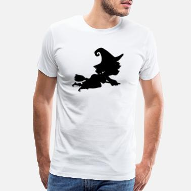 Witchcraft Witch Flies Away Quickly - Men's Premium T-Shirt
