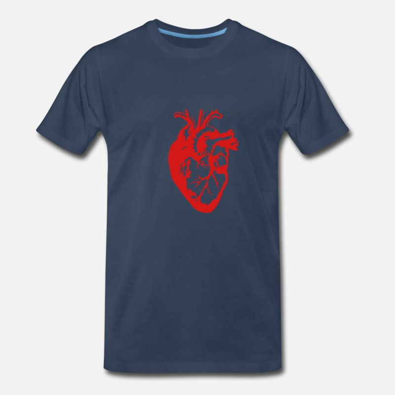8ac55fad Heart Realistic / Art Men's Premium T-Shirt   Spreadshirt
