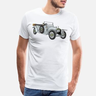 Silver Ghost Rolls-Royce - Men's Premium T-Shirt
