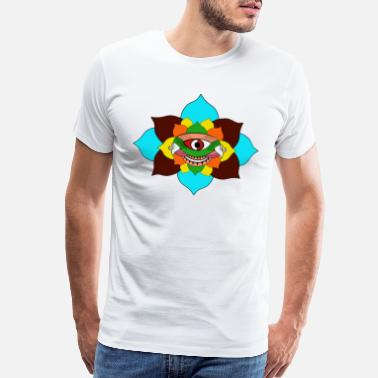 Eyelashes Eyeball Third eye - Men's Premium T-Shirt