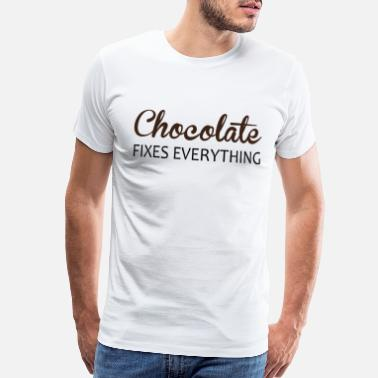 Candy Bar Chocolate candy food snack gift - Men's Premium T-Shirt