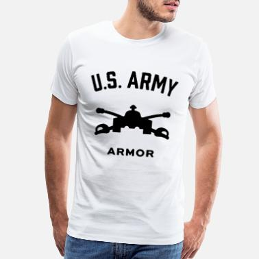 Schland US Army Armor - Men's Premium T-Shirt