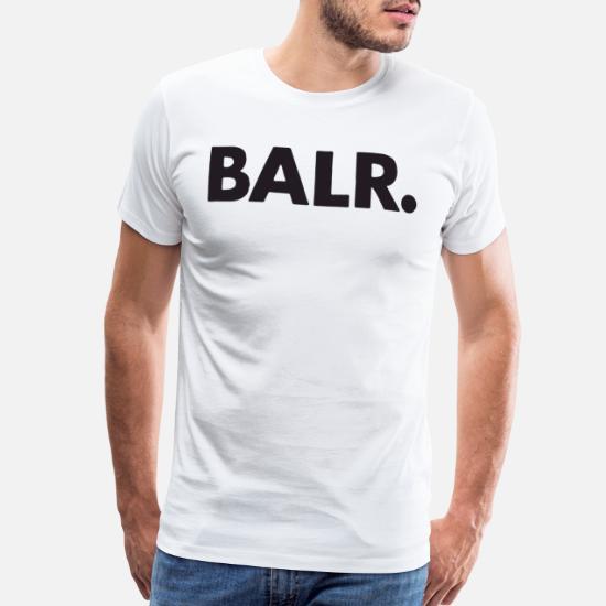 04ea6b50 Balr T-Shirts - Balr Logo Mens Soccor Top Football Rugby T Shirts - Men's