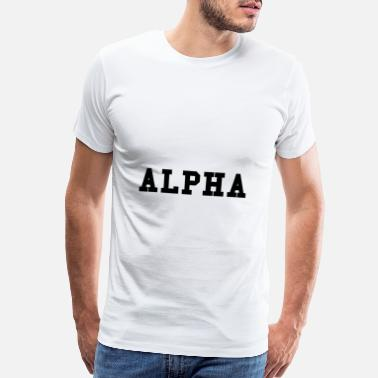 Male Alpha - Men's Premium T-Shirt