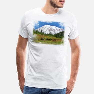 Washington rainier - Men's Premium T-Shirt