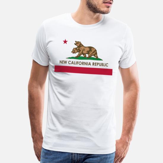 California Republic Men/'s T-Shirt