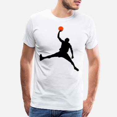 Jordan Slam Dunk HD Design - Men's Premium T-Shirt