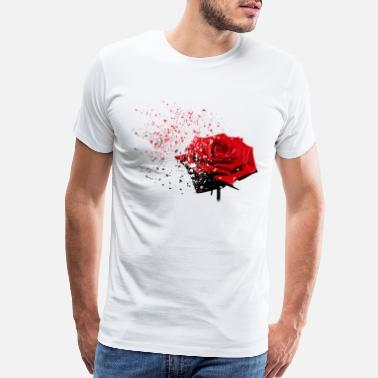 Red Rose Rose - Men's Premium T-Shirt