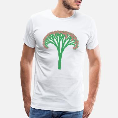 Public Fractal Tree - Men's Premium T-Shirt