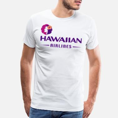 Airline Hawaiian - Men's Premium T-Shirt