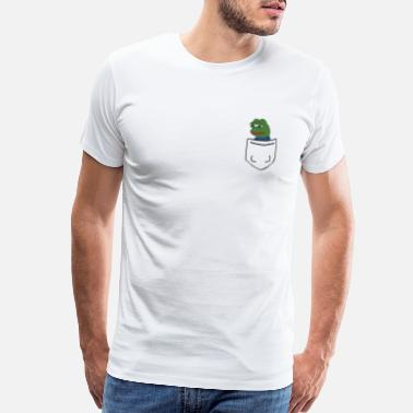 Frog Tiny Pocket Pepe - Men's Premium T-Shirt