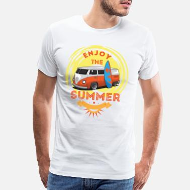 Enjoy the summer t-shirt ! - Men's Premium T-Shirt