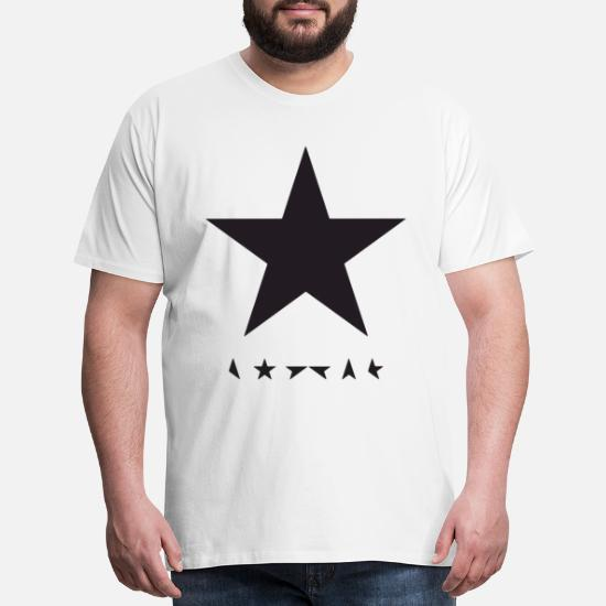 DAVID BOWIE BLACKSTAR T SHIRT BASEBALL TOP LONG SLEEVE RAGLAN UNISEX