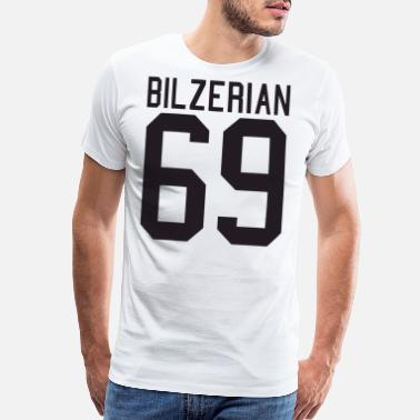 Dan Dan Bilzerian 69 Jersey Tee Beard The Man Beard T - Men's Premium T-Shirt