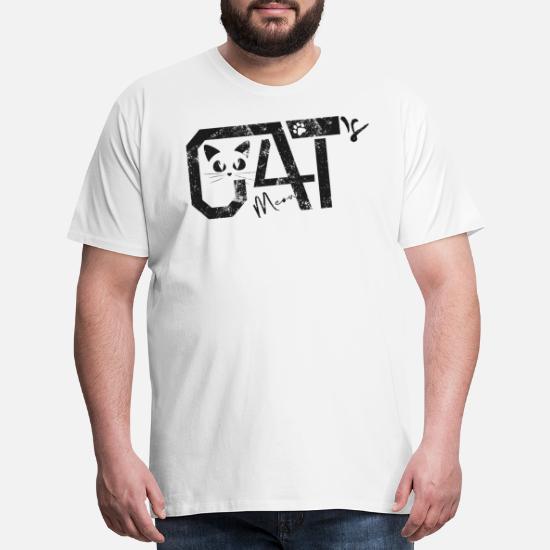 acfe639c Cat Cat's meow 2018 Best Selling Men's Premium T-Shirt | Spreadshirt