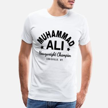 Muhammad Muhammad Ali Cassius Clay Boxing Gym Workout - Men's Premium T-Shirt