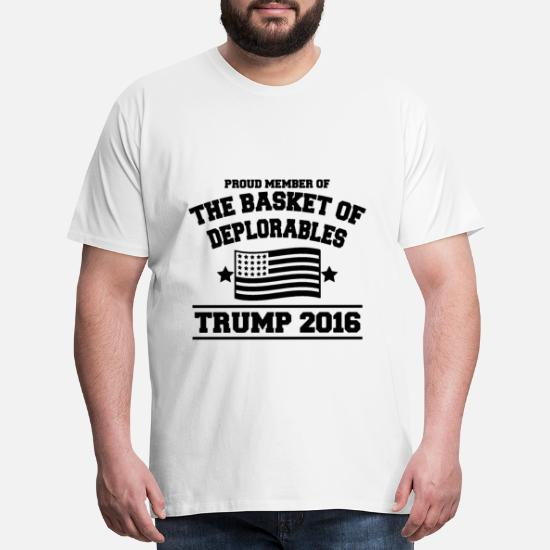 TRUMP IS NOT MY PRESIDENT T-SHIRT 2016 Anti Donald USA Deplorables