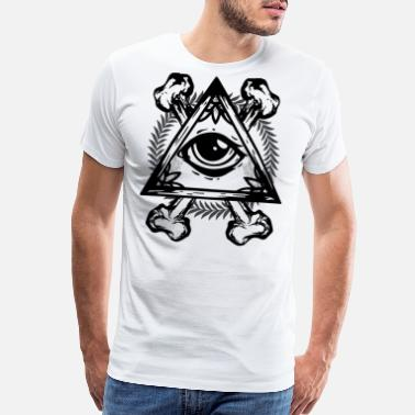 Fuck Illuminati ILLUMINATI EYE - Men's Premium T-Shirt