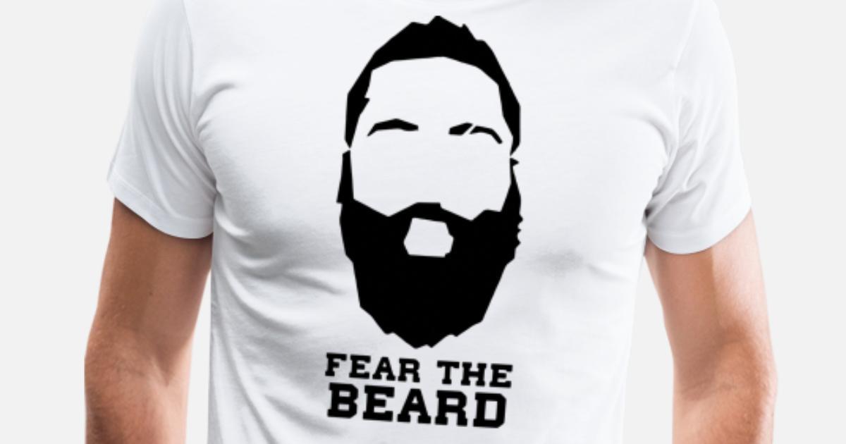 0bf3dc55e59 Fear The Beard New James Harden Houston Men s Premium T-Shirt ...
