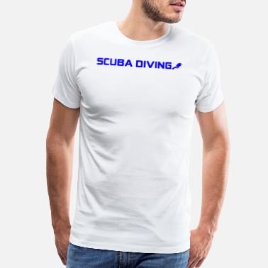 Cool Diving Scuba Diving Cool Style - Men's Premium T-Shirt