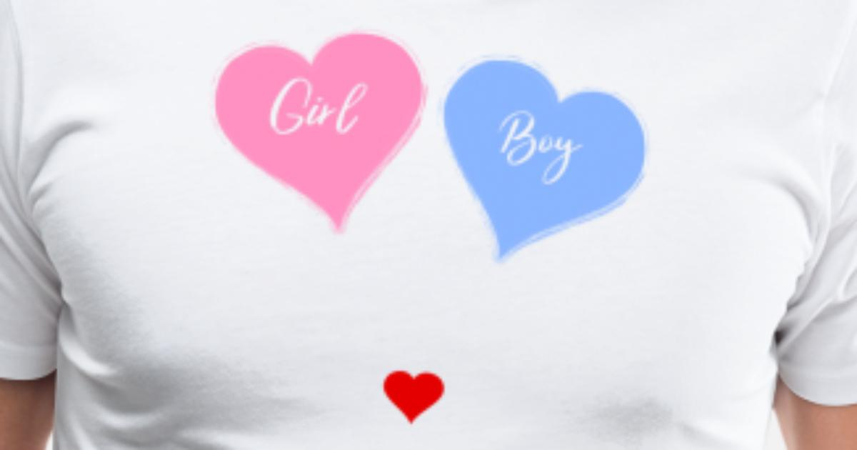 Pink Or Blue We Love You Fun Gender Reveal T Shirt By Corauction