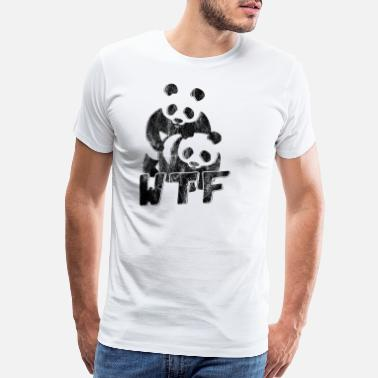 Welfare Panda bear animal - Men's Premium T-Shirt