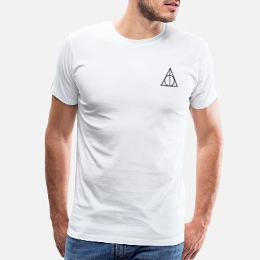 Harry Harry Potter Deathly Hallows - Men's Premium T-Shirt