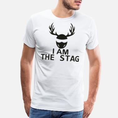 Doe I Am The Stag Stag Night - Men's Premium T-Shirt