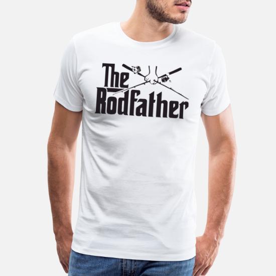 bc9bb0b9e Funny T-Shirts - The Rodfather Fish Fishing Funny Movie Men Women F - Men's