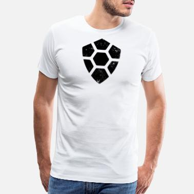 Turtle Coin Turtle Coin Logo Distressed Tshirt (TRTL) - Men's Premium T-Shirt