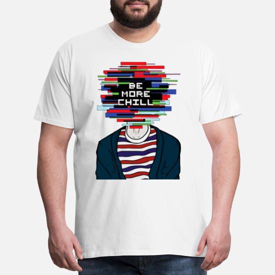 Mens Big Size T Shirt Dear Evan Hansen T-Shirt Games Oversize Top Larger Waist Size